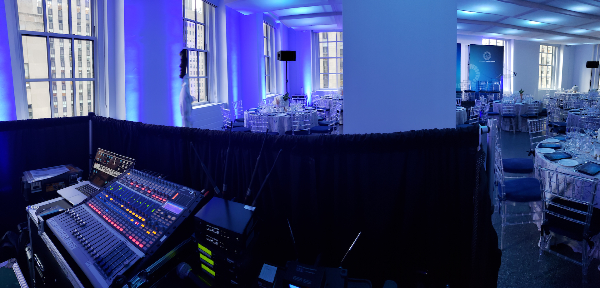 Audio Visual production services